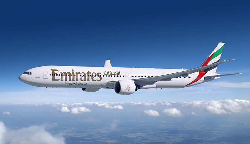 Emirates vliegt vanaf Brussel op Dubai International Airport